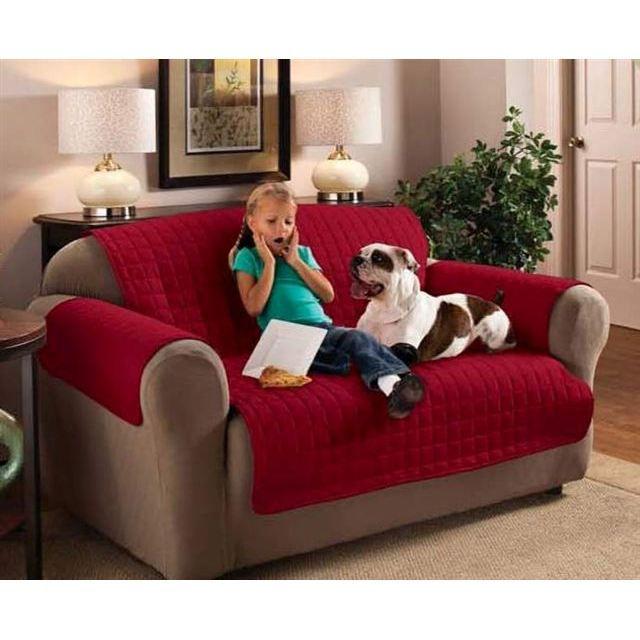 protege fauteuil cerise achat vente housse de canape. Black Bedroom Furniture Sets. Home Design Ideas