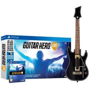 JEU PS4 Guitar Hero Live Jeu PS4