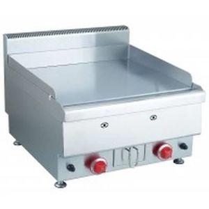 PLANCHA DE TABLE Plancha à snaker gaz - plaque de cuisson en inox -
