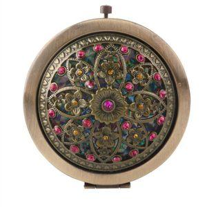 miroir de poche achat vente miroir de poche pas cher cdiscount. Black Bedroom Furniture Sets. Home Design Ideas