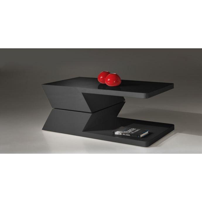 Acciola table basse pivotante noire achat vente for Petite table basse noire