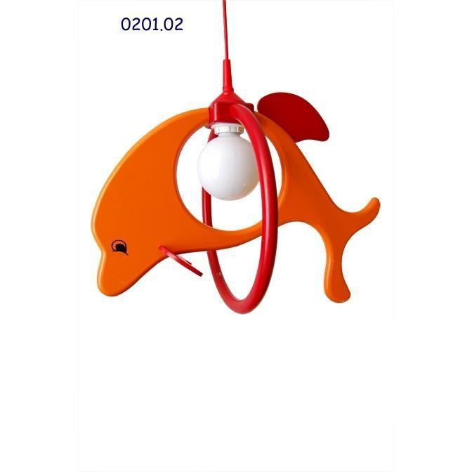 0201,02 Lustre suspension Delfin chambre des enfants 52cm x 32cm x