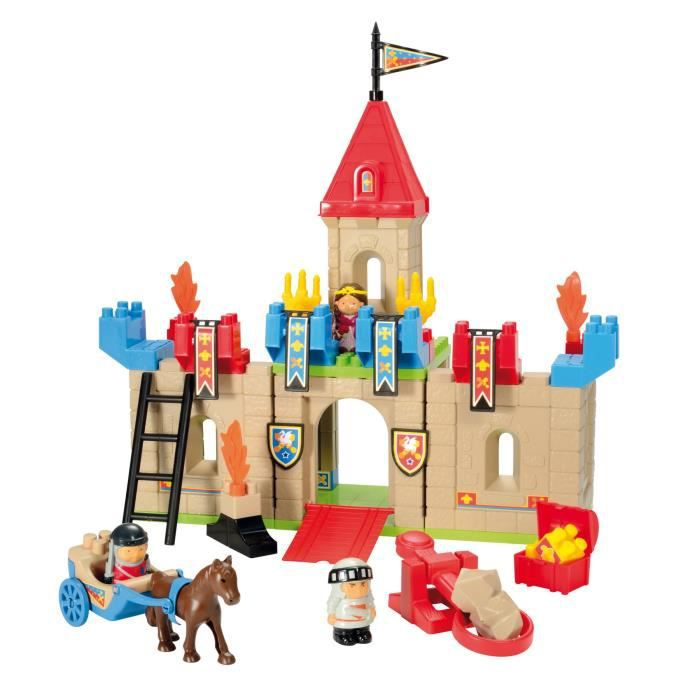 chateau fort a construire achat vente jeux et jouets pas chers. Black Bedroom Furniture Sets. Home Design Ideas
