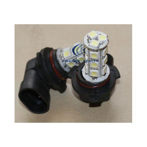 2 x ampoules hb3 9005 led smd 18 led achat vente ampoule tableau bord 2 x ampoules hb3 9005. Black Bedroom Furniture Sets. Home Design Ideas