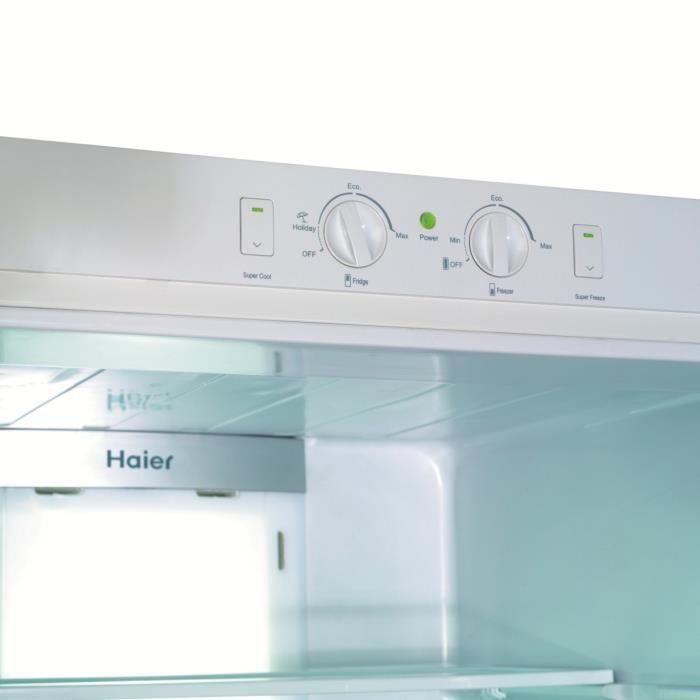 Haier cfe633cse r frig rateur cong lateur bas 310l 230 for Congelateur froid statique ou ventile
