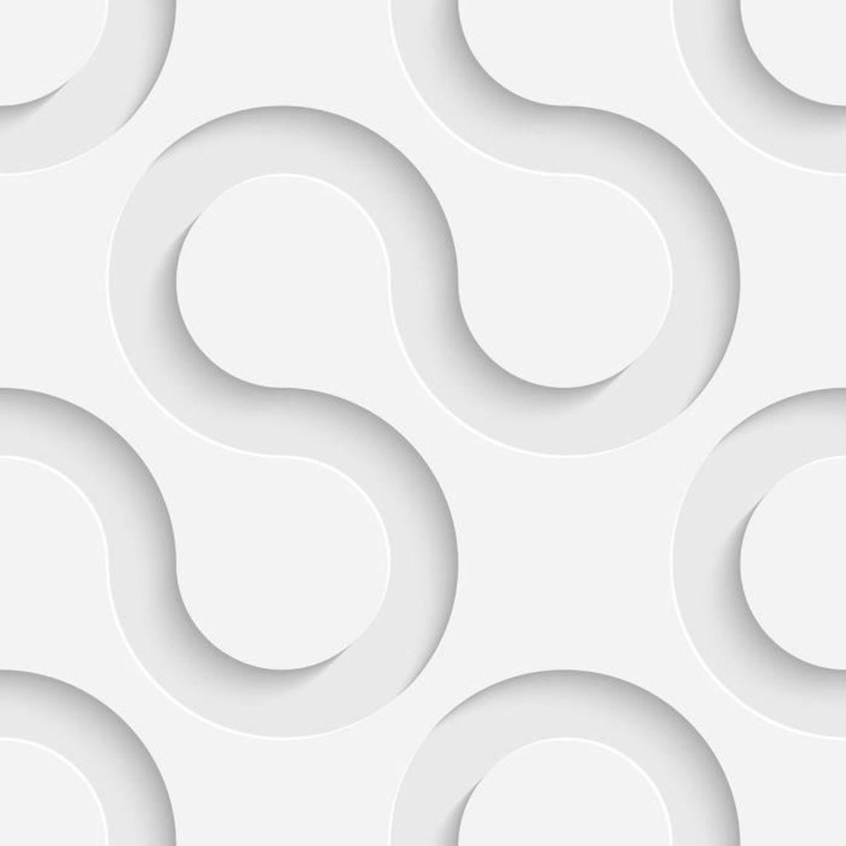 papier peint 3d double bulle gris clair achat vente. Black Bedroom Furniture Sets. Home Design Ideas