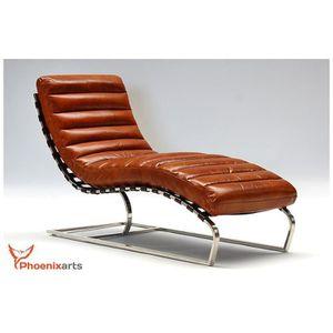 canape cuir marron vintage achat vente canape cuir marron vintage pas cher cdiscount. Black Bedroom Furniture Sets. Home Design Ideas