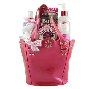 COFFRET CADEAU CORPS Coffret de Bain - Rose The Republic Of Pink Bliss