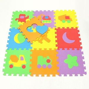 tapis enfant puzzle mousse achat vente jeux et jouets pas chers. Black Bedroom Furniture Sets. Home Design Ideas