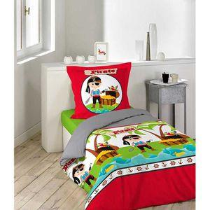 parure de lit pirate achat vente parure de lit pirate. Black Bedroom Furniture Sets. Home Design Ideas