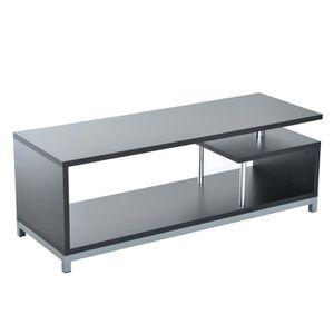 MEUBLE TV Meuble TV table Moderne Haute Brillance avec Pieds