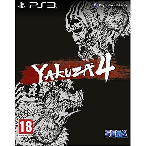 JEU PS3 YAKUZA 4 KURO EDITION / Jeu console PS3