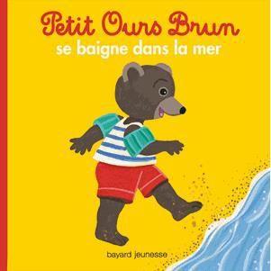Petit ours brun se baigne dans la mer achat vente - Petit ours brun a la mer ...