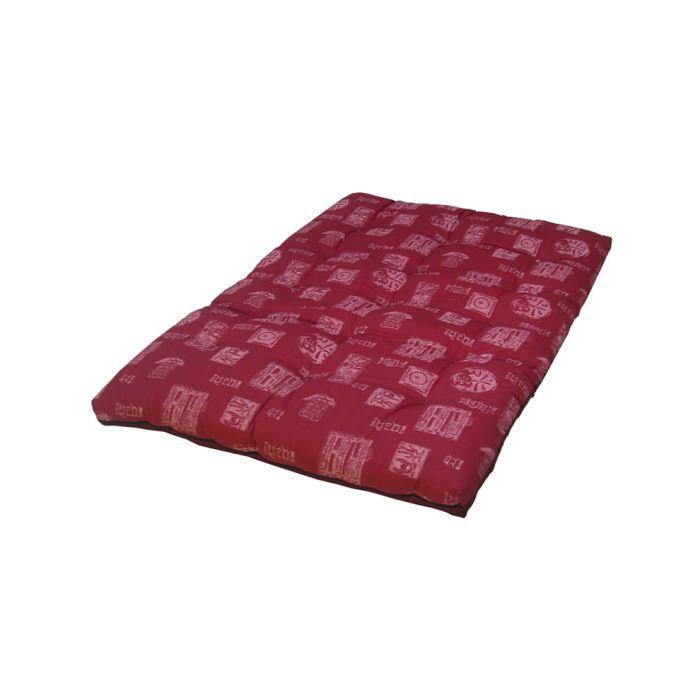 solone matelas futon imprim 140x200 achat vente matelas cdiscount. Black Bedroom Furniture Sets. Home Design Ideas