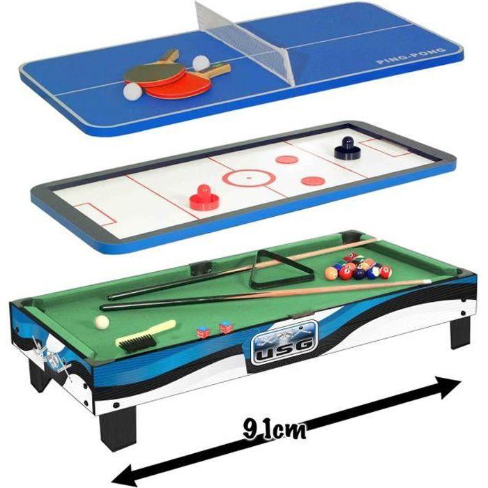 usg table multi jeux achat vente table multi jeux usg table multi jeux cdiscount. Black Bedroom Furniture Sets. Home Design Ideas