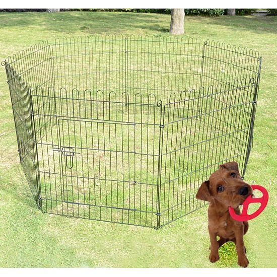 Parc enclos chiens chiots rongeurs 71x107cm 8 achat for Parc a chiot d interieur