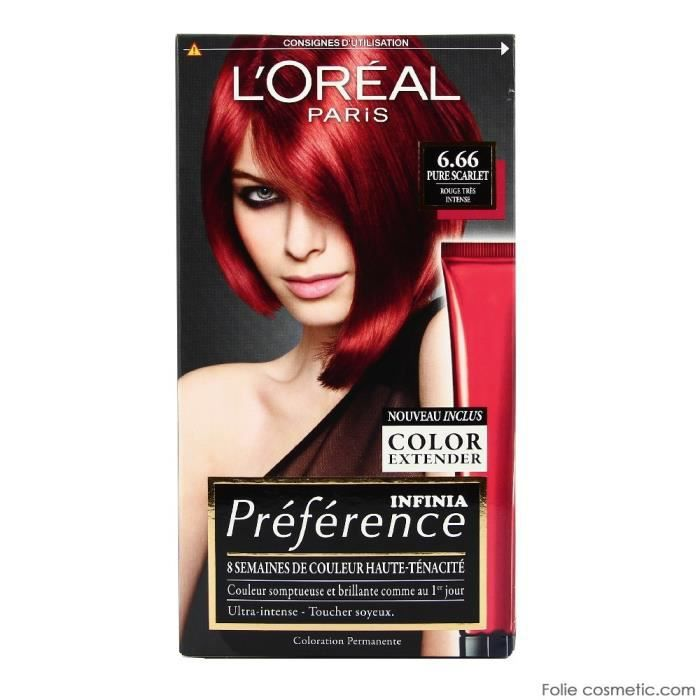 coloration loral coloration prfrence infinia 666 pure - Coloration Rouge Permanente