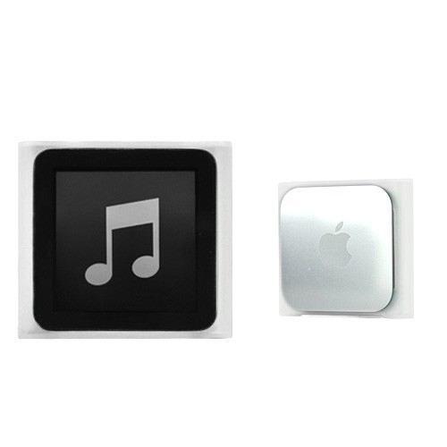 Coque ipod nano 6 silicone skin blanc achat vente for Housse ipod nano 7