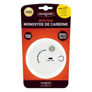 DÉTECTEUR DE FUMÉE Détecteur de monoxyde de carbone