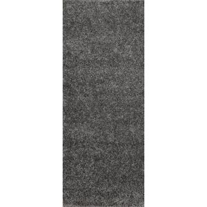 tapis de couloir shaggy gris 60x180 cm 40 mm achat. Black Bedroom Furniture Sets. Home Design Ideas