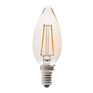 AMPOULE - LED Ampoule LED flamme filament ambré 2W=25W culot E14