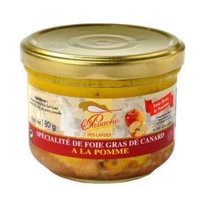 FOIE GRAS Spécialité Foie Gras de Canard Entier à la Pomme