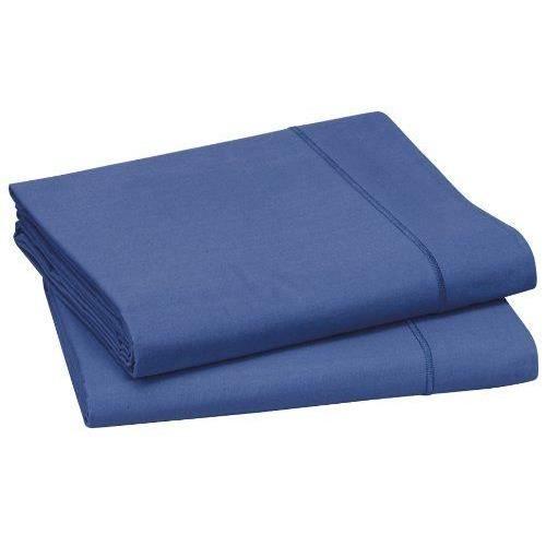 blanc des vosges c4d37f 0233 drap plat bleu royal 320 x 280 cm achat vente drap plat cdiscount