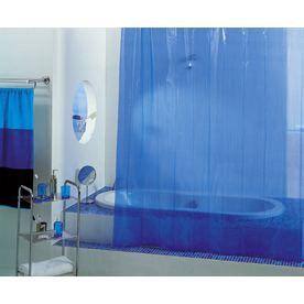 rideau de douche 39 sweety 39 180x200 cm bleu bleu achat vente rideau de douche pvc cdiscount. Black Bedroom Furniture Sets. Home Design Ideas