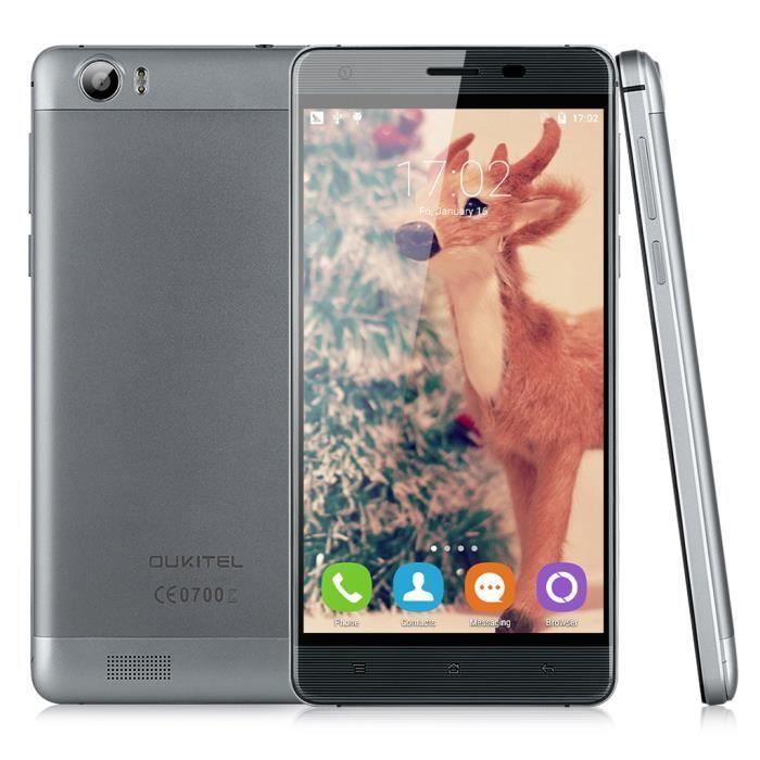 oukitel k6000 4g smartphone 5 5 cran hd pouces ips android 5 1 mt6735p quad core dual sim. Black Bedroom Furniture Sets. Home Design Ideas
