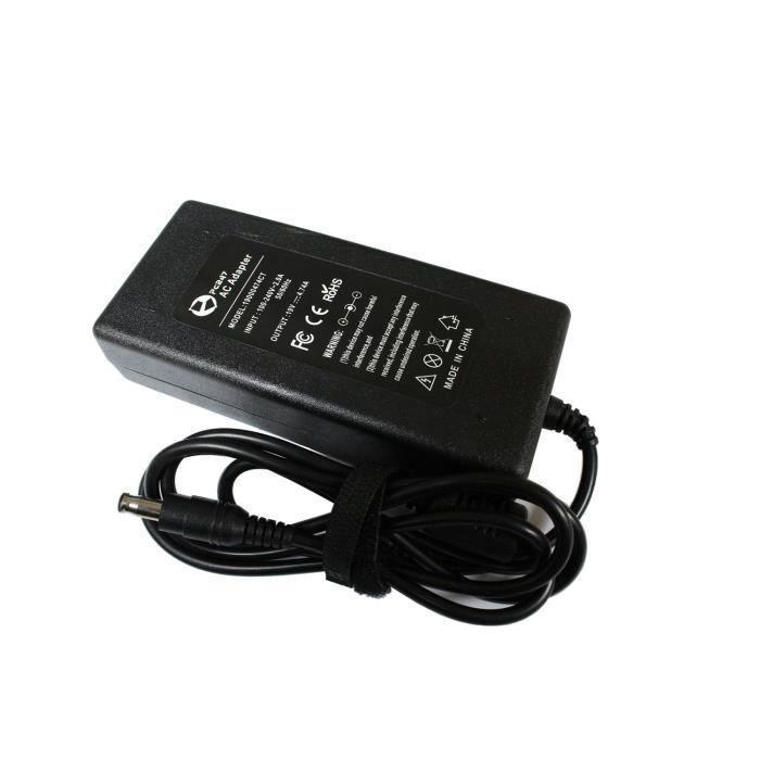 chargeur pour pc portable samsung 19v 4 74a prix pas cher cdiscount. Black Bedroom Furniture Sets. Home Design Ideas