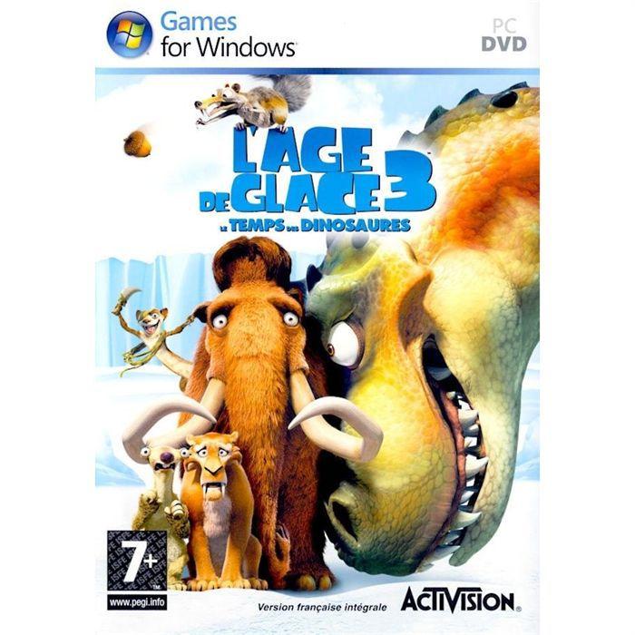 JEUX PC AGE DE GLACE 3