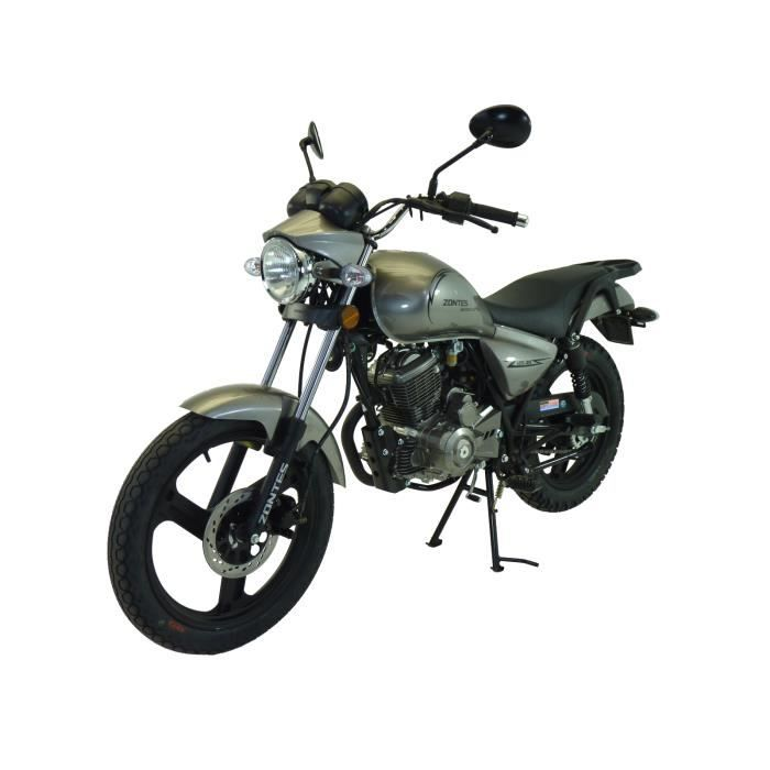 moto roadster 125 zontes gris homologu 2 places achat vente moto moto roadster 125 zontes. Black Bedroom Furniture Sets. Home Design Ideas