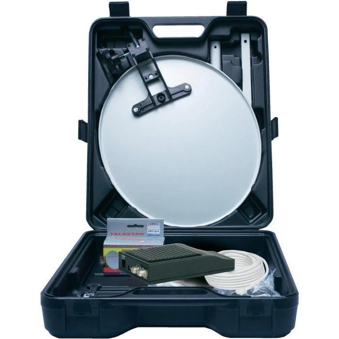 kit satellite pour camping telestar telemini hd l kit de. Black Bedroom Furniture Sets. Home Design Ideas
