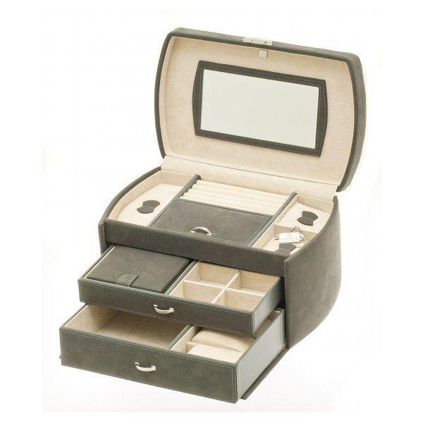 boite bijoux fa on daim achat vente boite a bijoux boite bijoux fa on daim cadeaux de. Black Bedroom Furniture Sets. Home Design Ideas