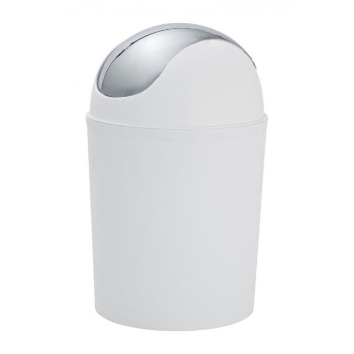 poubelle avec couvercle bascule en plastique achat vente poubelle corbeille poubelle. Black Bedroom Furniture Sets. Home Design Ideas
