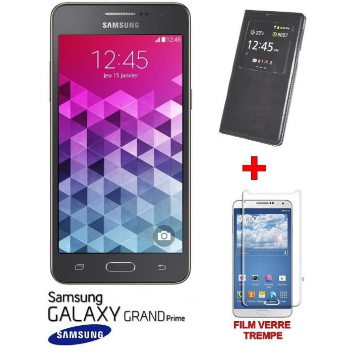 samsung galaxy grand prime g530 neuf view cover film. Black Bedroom Furniture Sets. Home Design Ideas