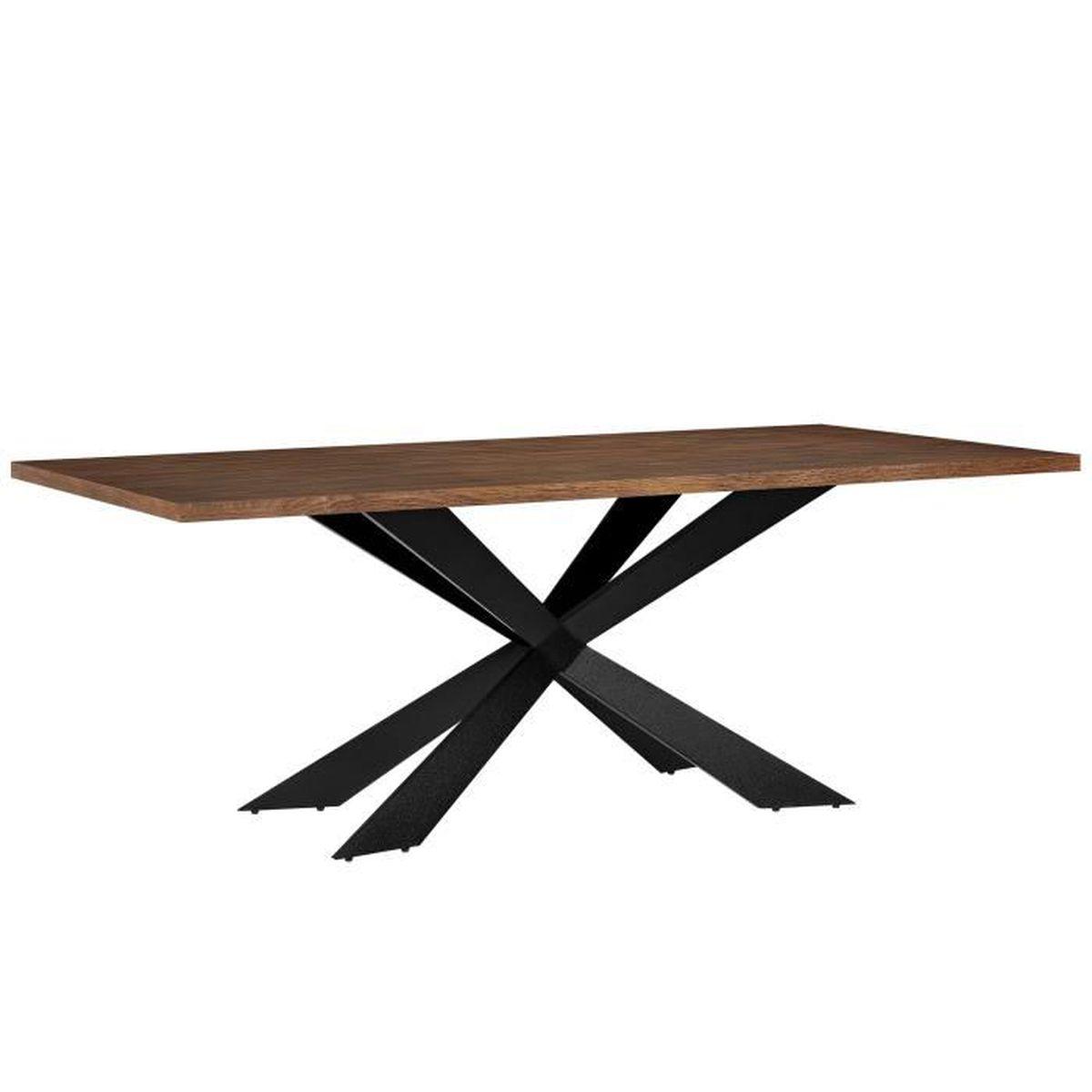 Table de salle manger pour 6 8 chaises noix for Table salle a manger 6 pieds