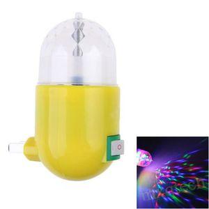 ampoule led 3w rgb led ampoule tournant color disco dj fte n - Ampoule Colore
