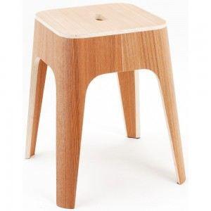 tabouret design bois naturel bingo couleur marron achat vente tabouret de bar cdiscount. Black Bedroom Furniture Sets. Home Design Ideas