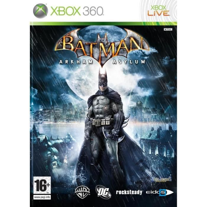 JEUX XBOX 360 Batman Arkham Asylum [import anglais]  [Xbox360]