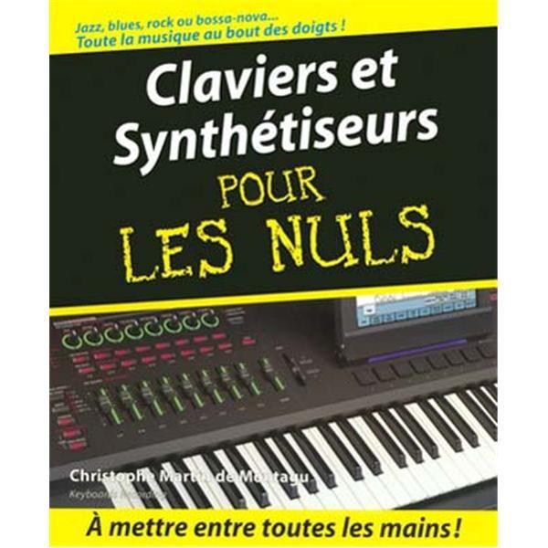 Claviers Et Synth Tiseurs Pour Les Nuls Cd Pas Cher