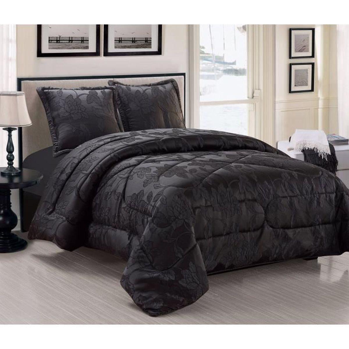 boutis noir achat vente boutis noir pas cher cdiscount. Black Bedroom Furniture Sets. Home Design Ideas