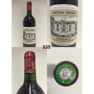 vin rouge chteau dauzac 1989 n 535 - Chateau Dauzac Mariage