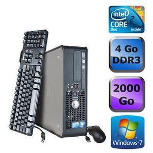 UNITÉ CENTRALE  Dell Optiplex 780 SFF - Core 2 Duo 3,16GHz - 2 To