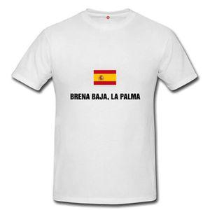 T-SHIRT T-shirt brena baja, la palma homme et femme unisex