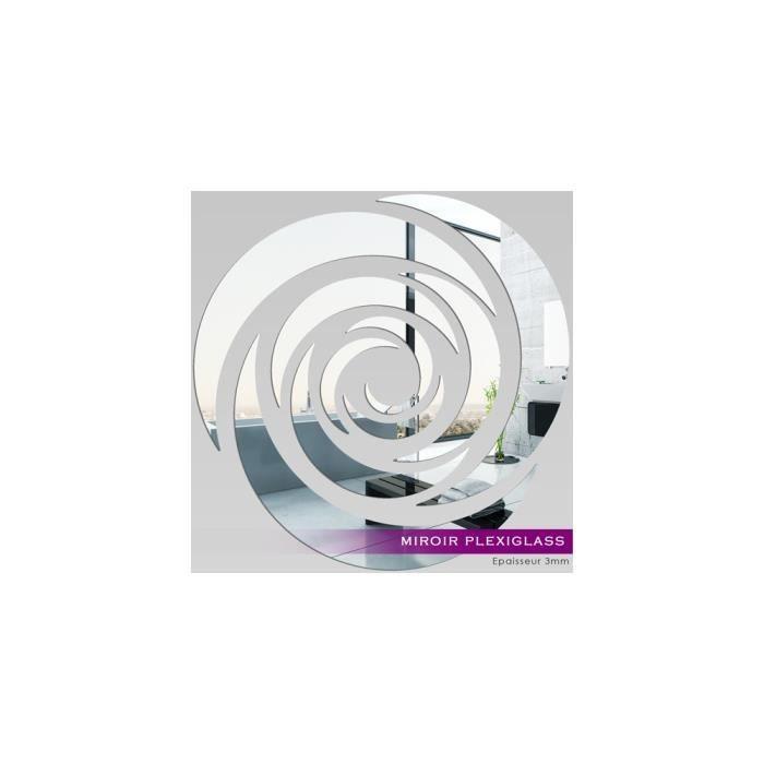 Miroir plexiglass acrylique rose design ref mir 178 for Miroir qui s ouvre