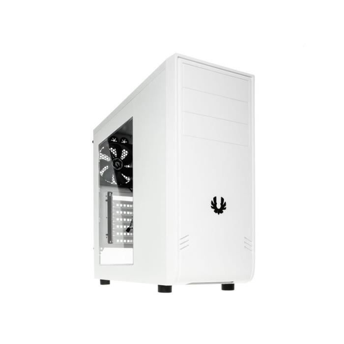 Boitier pc bitfenix comrade blanc avec fen tre prix for Fenetre informatique