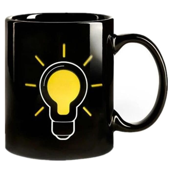 ampoule thermostat changement de couleur caf au lait tasse en c ramique coupe de no l. Black Bedroom Furniture Sets. Home Design Ideas