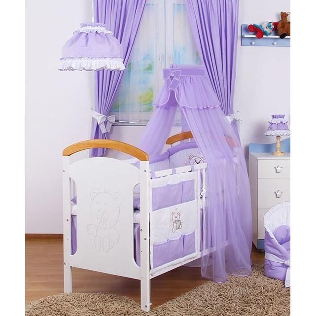 parure de lit b b ensemble 6 pcs linge lit b b ciel tour de lit. Black Bedroom Furniture Sets. Home Design Ideas