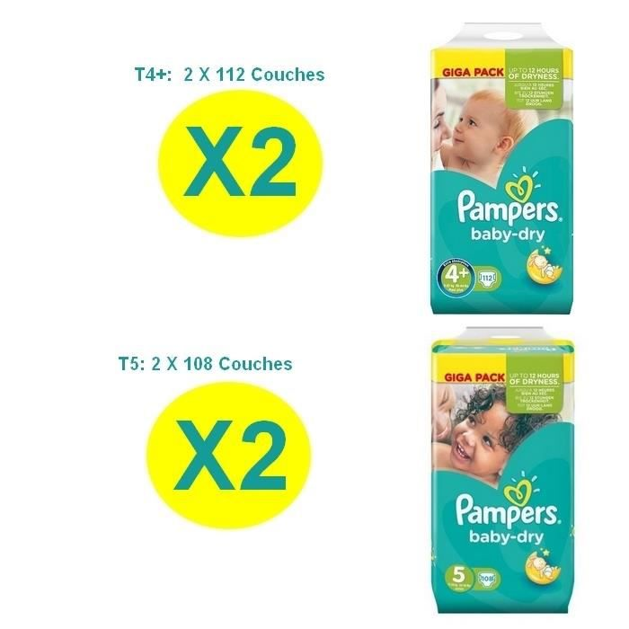 Couche pampers taille 5 plus baby dry achat vente - Couches pampers taille 4 comparateur prix ...